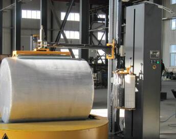 圆筒式缠绕机是专门为圆柱形(产品设计的