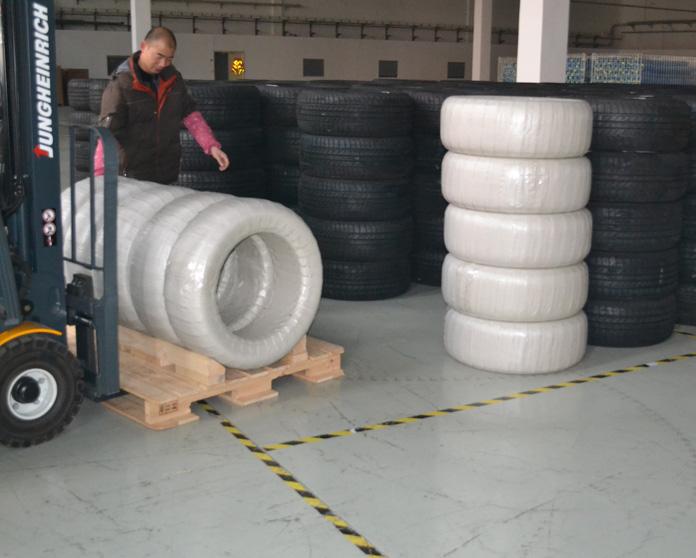 轮胎缠绕机